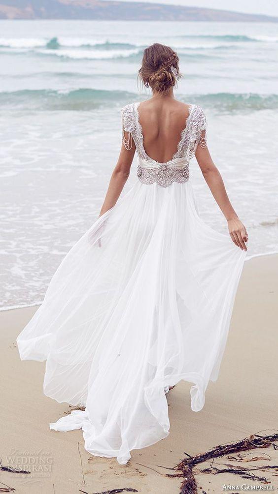 Vestidos de novia para bodas en la playa (20) - Curso de ...