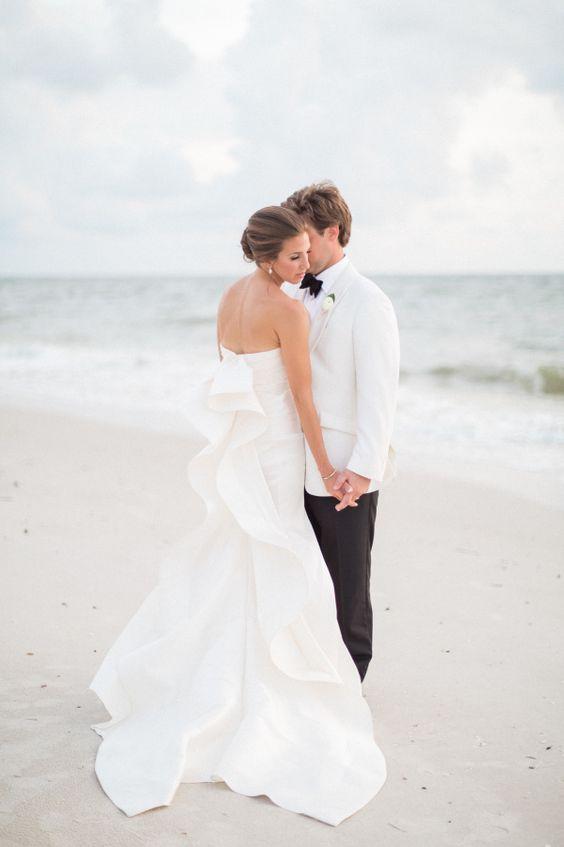 Vestidos de novia para bodas en la playa - Curso de Organizacion del ...