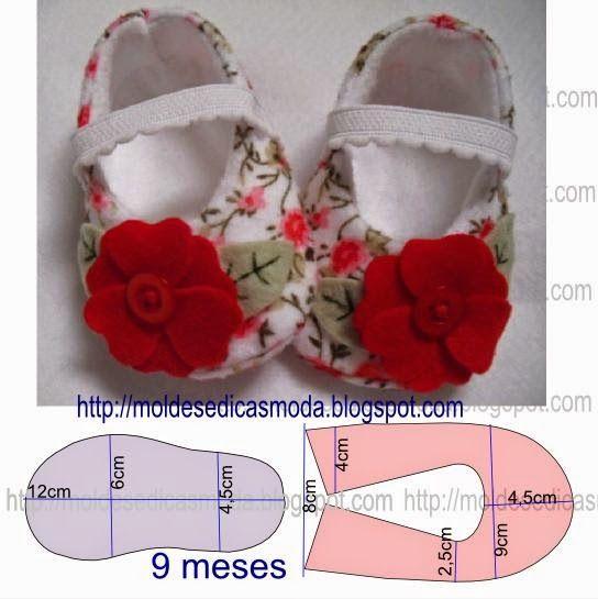 31dfa26f13589 Zapatitos para bebe niña - Curso de Organizacion del hogar y ...