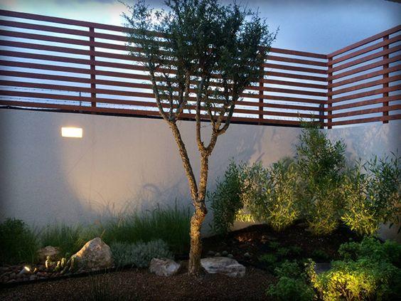 Cercos de herrer a ideas para el dise o de tu fachada for Muro de separacion terraza