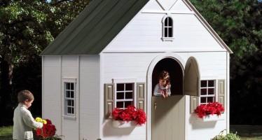 Como diseñar una casita de Juegos para Patio