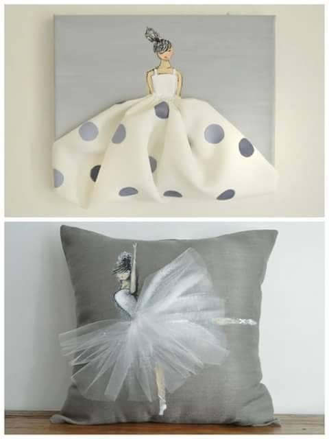 Dyi cojines y cuadros decorativos para nina 31 curso for Cuadros decorativos 2016