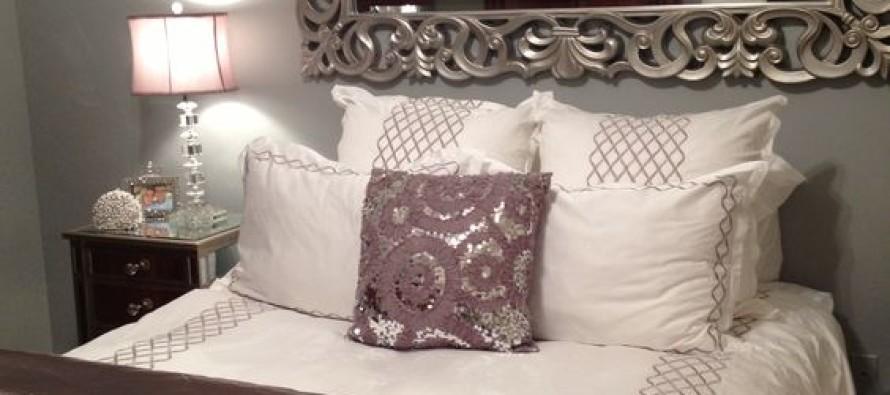 Ideas para decorar tu cama con cojines curso de - Cojines grandes para cama ...