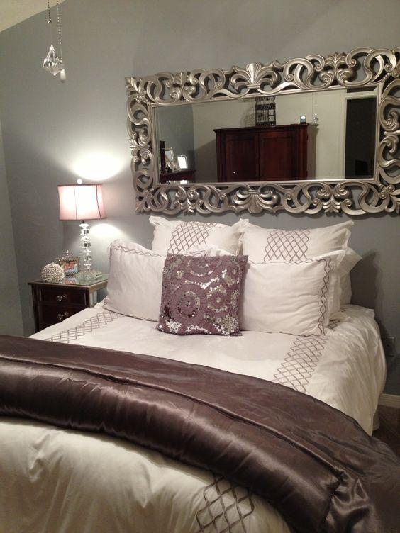 Ideas para decorar tu cama con cojines 17 curso de - Camas con cojines ...