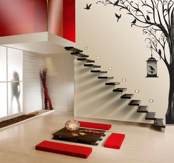 Ideas para decorar paredes de escaleras for Adornos para paredes de escaleras
