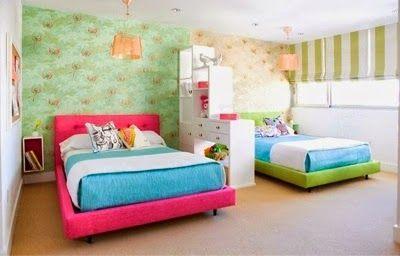 Ideas para decorar y organizar habitacion compartida - Organizar habitacion ninos ...
