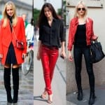 red girl outfits