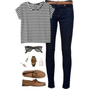 sperry girl outfits