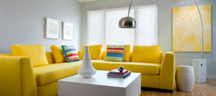 Ideas para decorar tu casa con toques de color amarillo for Colores para decorar una casa