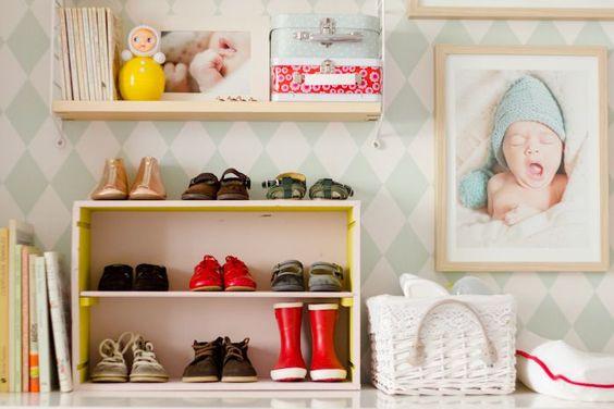 Como organizar closet infantil archivos curso de - Decoracion zapateria infantil ...
