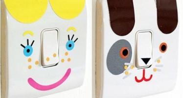 21 Ideas para decorar interruptores