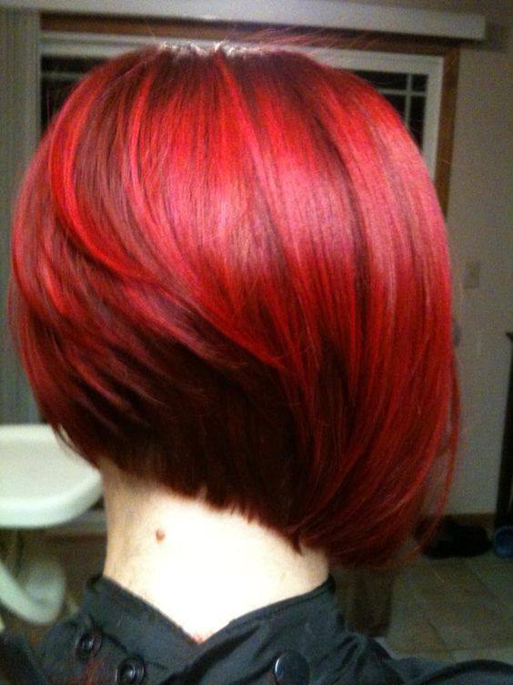 Cabello corto con diferentes tonos de rojo 7 curso de organizacion del hogar y decoracion de - Bano de color rojo pelo ...