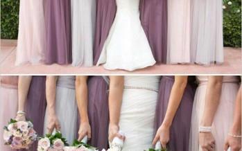 Colores para vestidos de damas de honor
