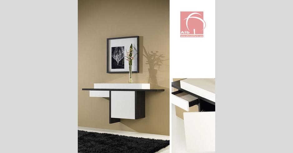 Consoletas modernas 4 curso de organizacion del hogar y decoracion de interiores - Taquillones de entrada ...
