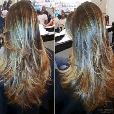 cortes de cabello en capas largas 13 curso de