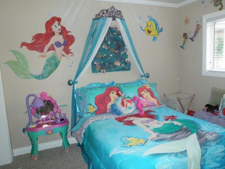Decoracion de ariel para habitacion de ni a 18 curso de organizacion del hogar y decoracion - Decoracion habitacion de nina ...