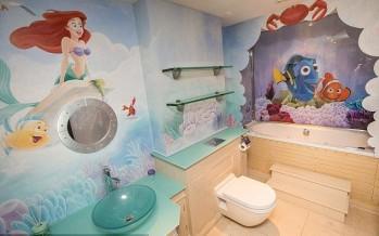 Decoracion de Ariel para habitacion de niña