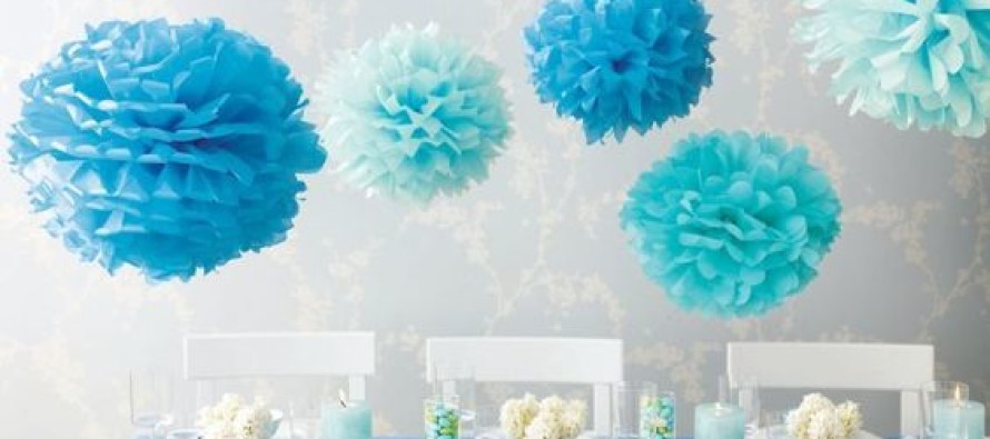 Decoracion De Baby Shower En Azul