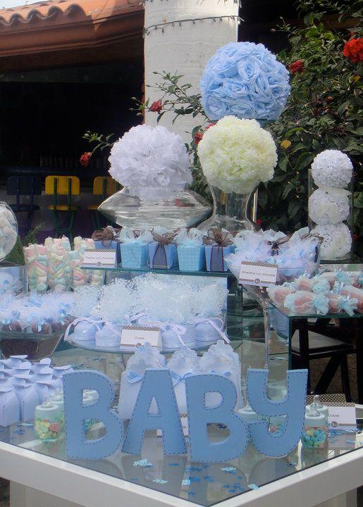 Decoracion De Baby Shower En Azul 7 Curso De
