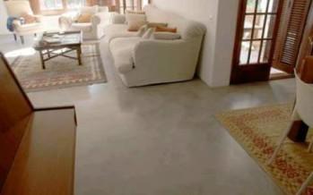 Decoracion de interiores con cemento