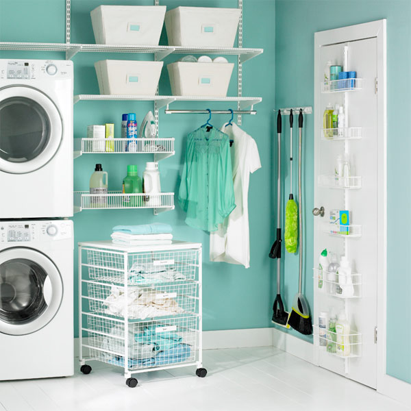 Decoracion de cuarto de lavado   curso de organizacion del hogar