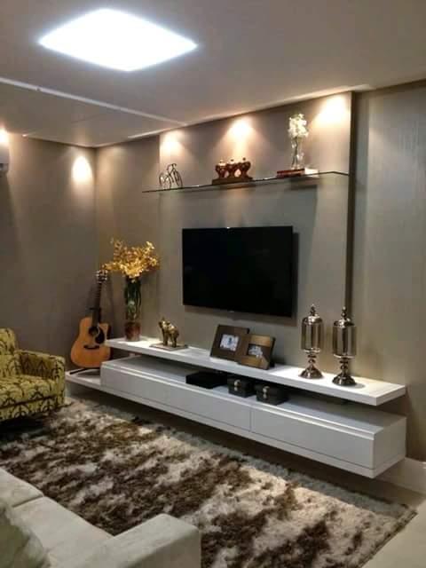 Decoracion de cuarto de tv 7 curso de organizacion del hogar y decoracion de interiores - Decoracion cuarto de estar ...