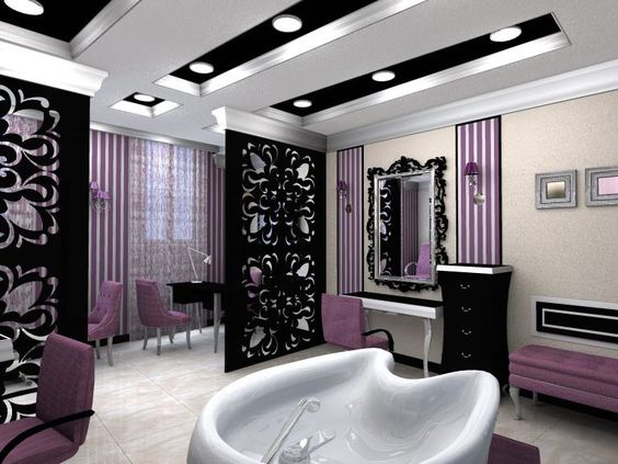 Decoracion de esteticas 18 curso de organizacion del hogar for Small nail salon interior designs