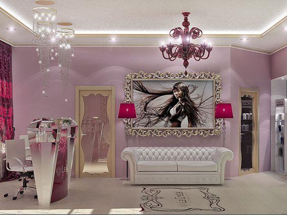 Fashion Beauty Shop Vashi: Decoracion De Esteticas (26)