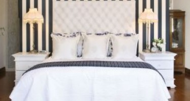 Decoracion de habitacion con papel tapiz