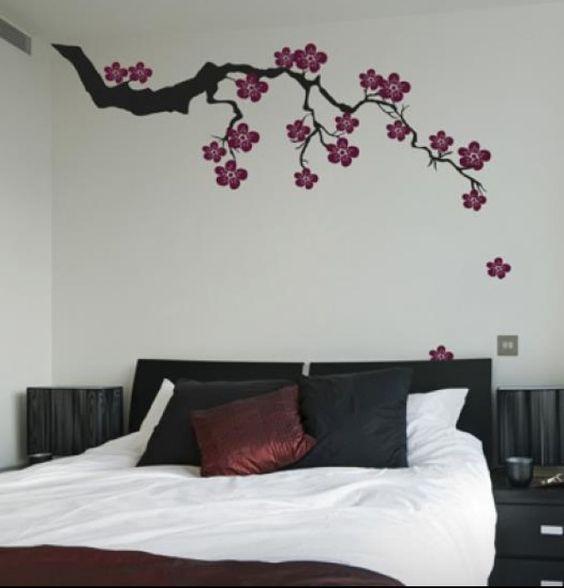 Decoracion de habitacion con papel tapiz 22 curso de - Decoracion para paredes de habitaciones ...