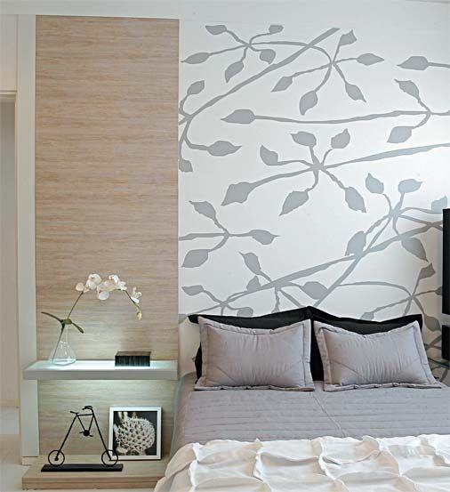 Decoracion de habitacion con papel tapiz 4 curso de - Papel para habitacion ...