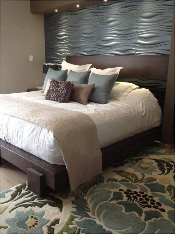 Decoracion de habitacion con papel tapiz 7 curso de - Papel para habitacion ...