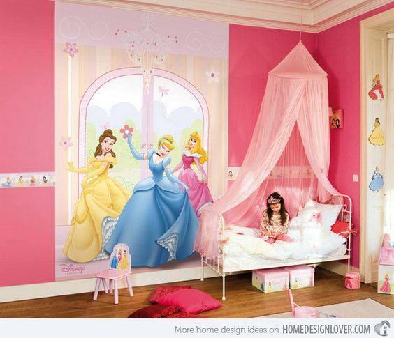Decoracion de habitacion infantil de princesas curso de - Decoracion habitacion infantil ...