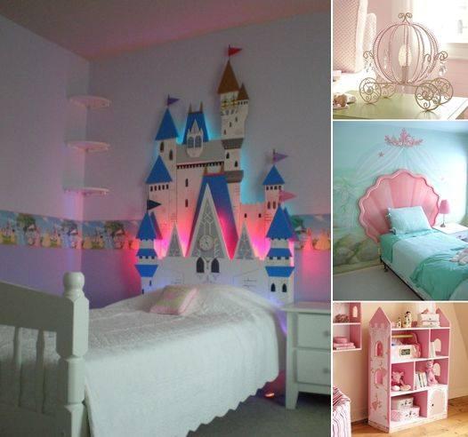 Decoracion de habitacion infantil de princesas 5 curso - Organizacion habitacion infantil ...