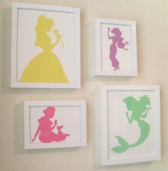 Decoracion de habitacion infantil de princesas 9 curso - Organizacion habitacion infantil ...