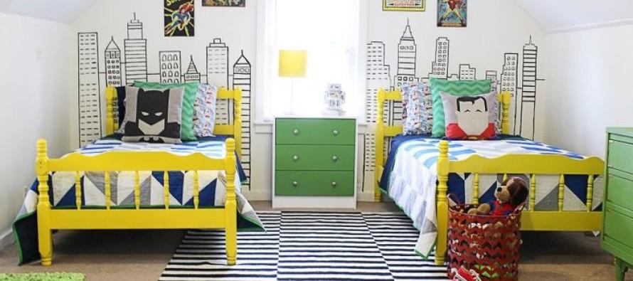 decoracion de habitacion infantil super heroes curso de