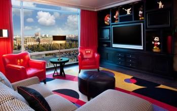 Decoracion de habitaciones infantiles Mickey y Minnie