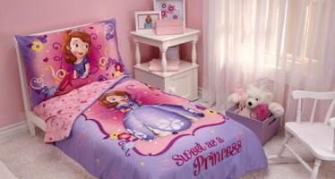 Decoracion de habitaciones infantiles princesa Sofia