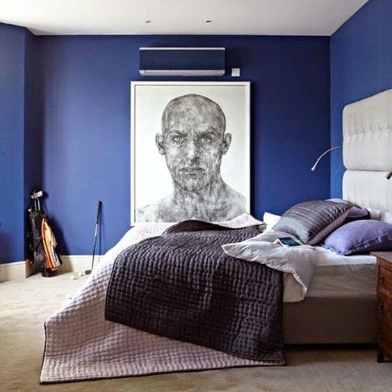 Bedroom Blue Navy Young Man Bedroom Decorating Ideas Yellow Bedroom Decor Ideas Pastel Blue Bedroom: Decoracion De Habitaciones Masculinas