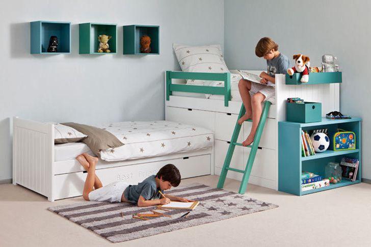 Decoracion de habitaciones para ni o y ni a 8 curso de for Cuartos para nina y nino juntos