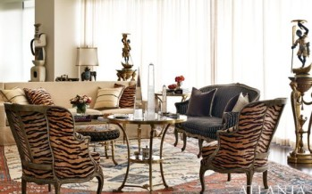 Decoracion de interiores con animal print