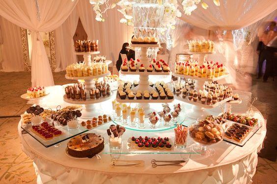 Decoracion de mesa de postres para graduacion 22 curso - Decoracion de mesa de dulces ...