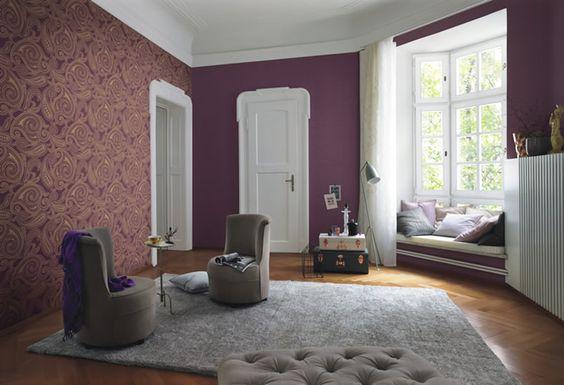 decoracion de salas con papel tapiz 18 curso de