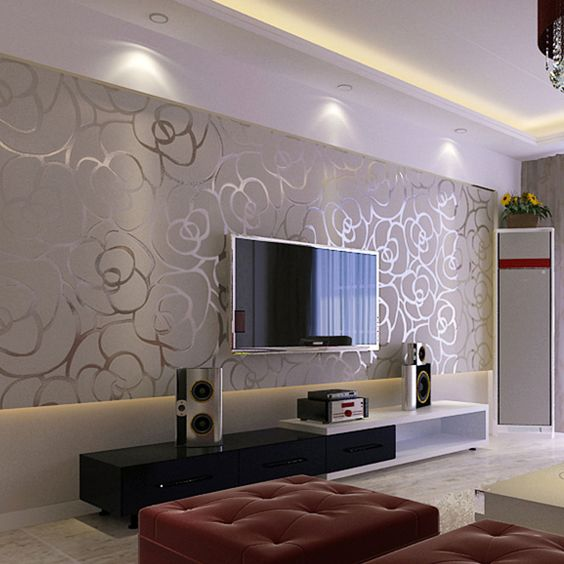 Decoracion de salas con papel tapiz 22 curso de for Decoracion de salas 2016