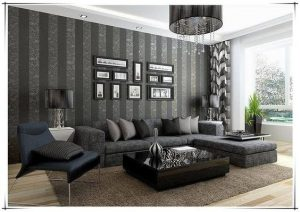 Decoracion de salas con papel tapiz (25)