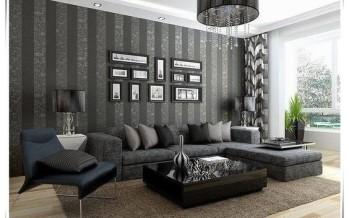 Decoracion de salas con papel tapiz