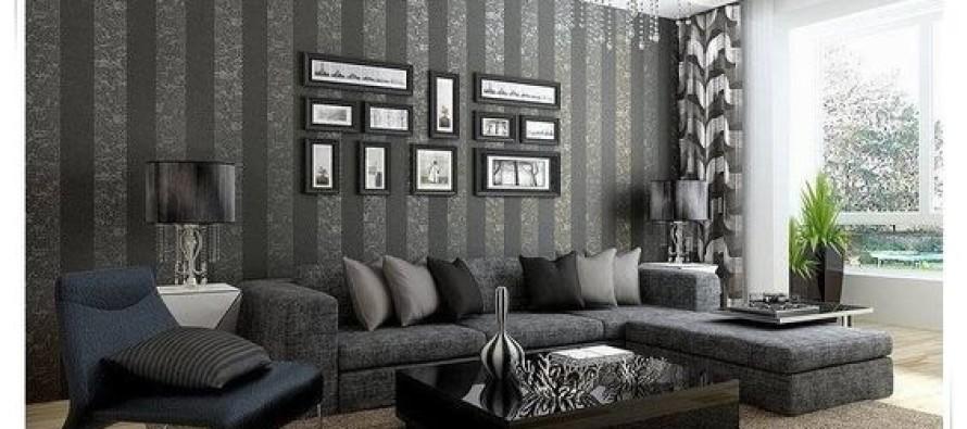 decoracion de salas con papel tapiz curso de organizacion del hogar. Black Bedroom Furniture Sets. Home Design Ideas