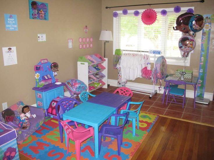 Decoracion para habitacion de ni a de doctora juguetes 14 - Decoracion habitacion de ninas ...