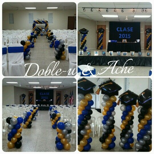 Graduacion Decoracion ~ Top Centros De Mesa Con Globos Para Baby Shower Fotos Db Tattoo Tattoo