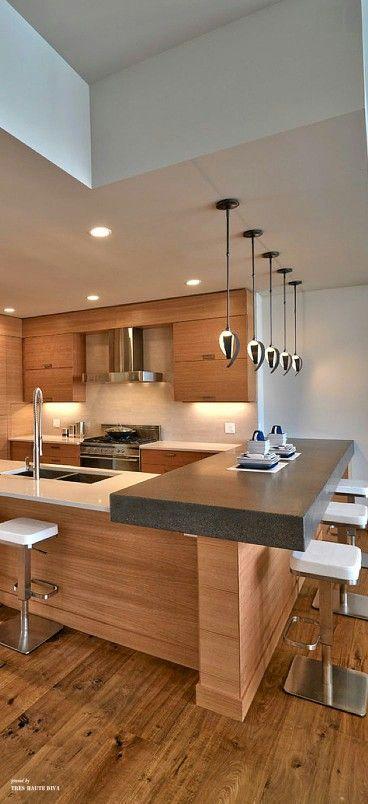 Desayunador en la cocina 20 curso de organizacion del hogar - Modern kitchen below ...